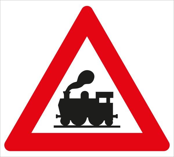 §50/6b Bahnübergang ohne Schranken
