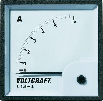 VOLTCRAFT AM-72X72/5A Analog-Einbaumessg