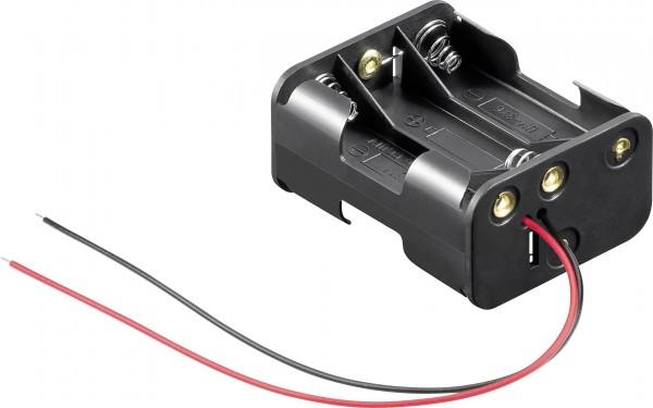 Goobay 81216 Batteriehalter 6x Mignon (AA) Kabel (L x B x H) 58 x 47 x 28 m