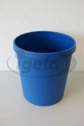 Helit Papierkorb 18l blau