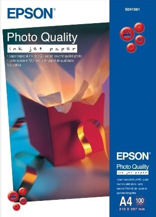 Epson IJ Pho.Qual.Pap. A4 1x100