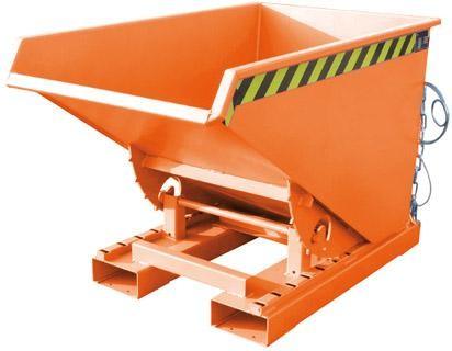 Kippbehälter m. Abrollsys0,3 ,1260x770x835mm,lack