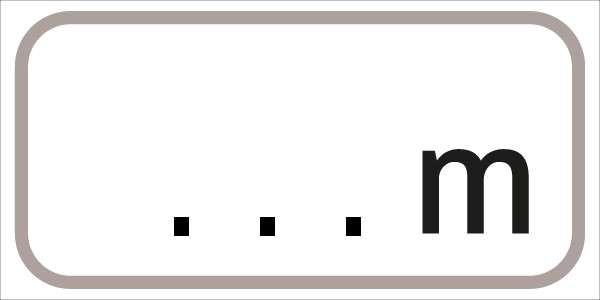 §54/5 Z.T. mit Meterangabe