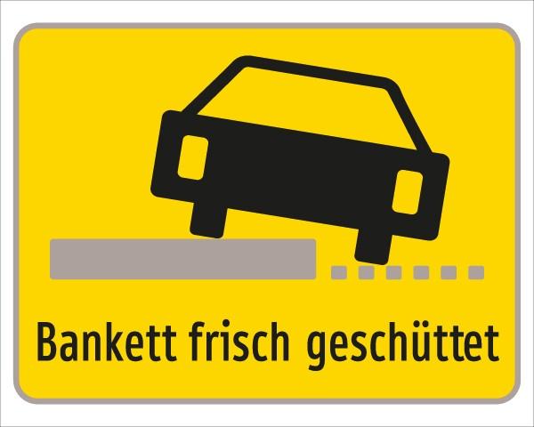 §54/5 Z.T. Bankett frisch geschüttet + Symbol