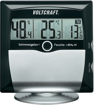 Luftfeuchtemessgerät (Hygrometer) VOLTCR