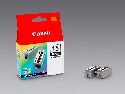 Canon Ink black 1x2