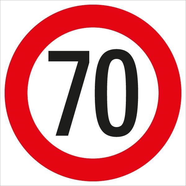 §52/10a Geschwindigkeitsbegrenzung 70 km/h