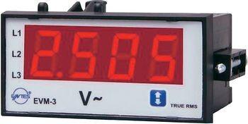 ENTES EVM-3-48 EPM-3-48 Voltmeter Einba