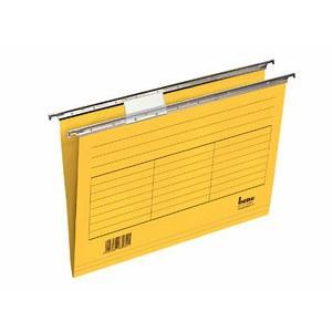 Hängemappe, 230 g/m², seitlich offen, A4, gelb