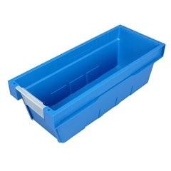 Lagerbehälter, VE 4 Stk, Breite 200 mm, himmelblau.