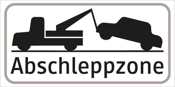 §54/5 Z.T. Abschlepp-Symbol Abschleppzone