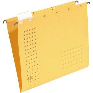 Hängemappe chic, Karton (RC), 230g/m², A4, gelb