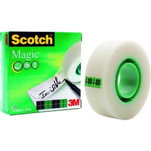 Klebeband Magic™ Tape 810, Zelluloseacetat, 19 mm x 33 m, transparent