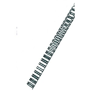 Binderücken, Draht, 34R.-3:1, A4, Ø: 8 mm, für: 60 Blatt, schwarz