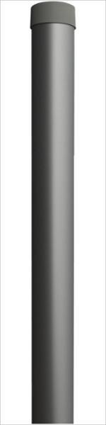 Rohrsteher Ø 60mm / Wandstärke 3mm / Alu inkl. Abdeckkappe