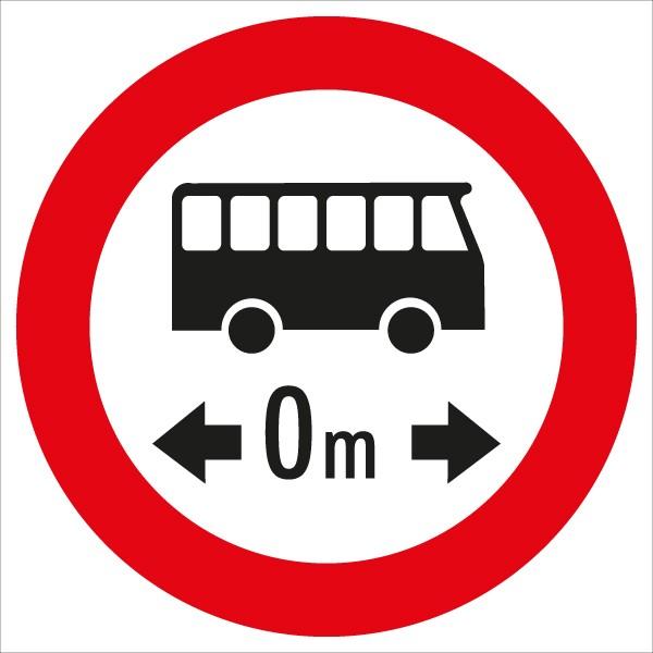 §52/7f Fahrverbot für Omnibusse mit Längenangabe