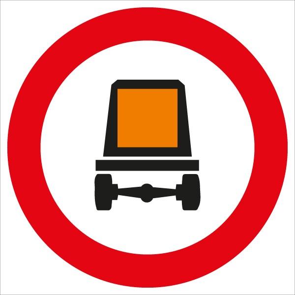 §52/7e Fahrverbot für KFZ mit gefährlichen Gütern