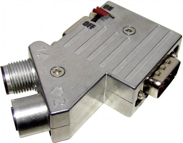 Provertha 40-1292122 Sensor-/Aktor-Verteiler und Adapter M12 Adapter, Absch