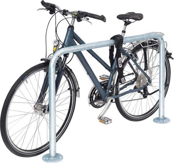 Fahrrad-Anlehnbügel 9200, L1000mm,vzk.,z.Einb