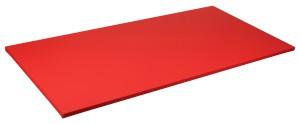Sport-Thieme® Judomatte Rot,Tafelgröße ca. 200x100x4 cm