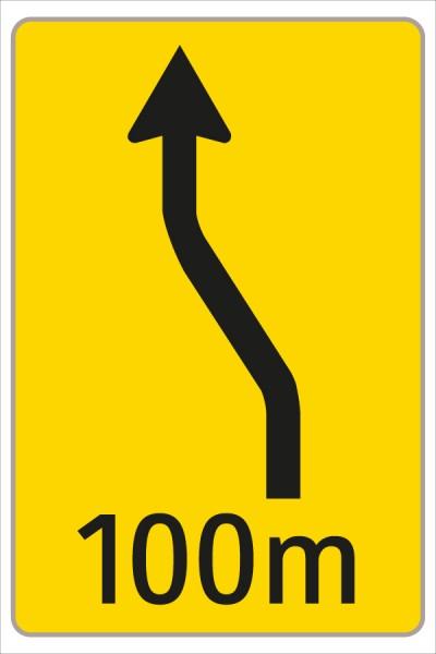 §53/16c Fahrstreifenanzeiger gelb – schwarz F7
