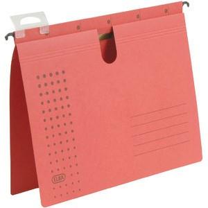 Hängehefter chic, Karton (RC), kaufmännische Heftung, A4, rot