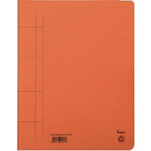 Schnellhefter, Karton (RC), 1/1 Vorderdeckel, A4, orange