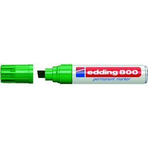 Permanentmarker 800, Keilspitze, 4 - 12 mm, Schreibf.: grün