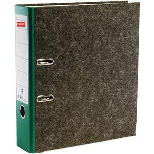 Ordner, Wolkenmarmorpapier (RC), SK-Rückenschild, A4, 80mm, grün