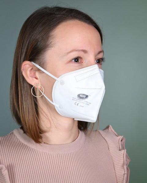 10 x FFP2 Masken ohne Ventil aus DE versandt, CE-konform