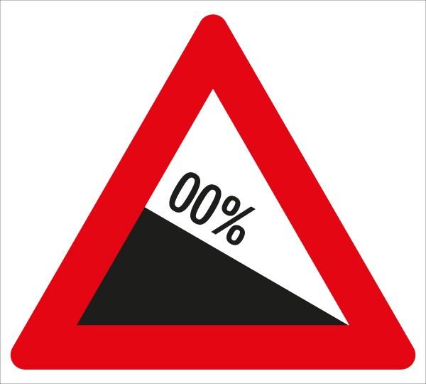 §50/7 Gefährliches Gefälle %