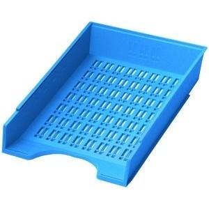 Briefkorb, PS, C4, 256 x 370 x 70 mm, blau