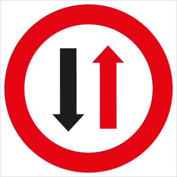 §52/5 Wartepflicht bei Gegenverkehr