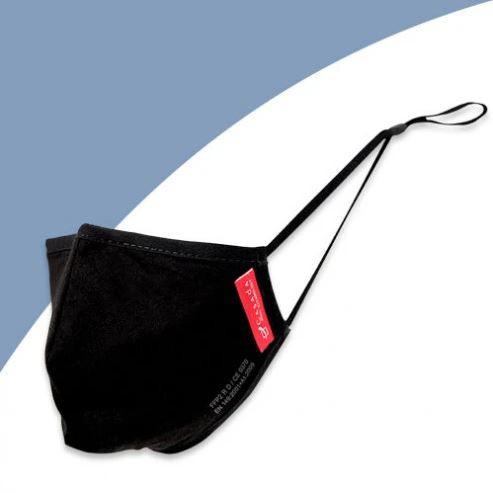 Waschbare FFP2-Nano-Maske schwarz - Civil Use | ab 1 Stk. erhältlich