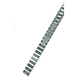 Binderücken, Draht, 34R.-3:1, A4, Ø: 6 mm, für: 45 Blatt, schwarz