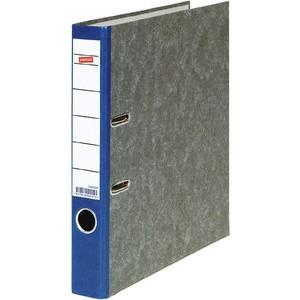 Ordner, Wolkenmarmorpapier (RC), SK-Rückenschild, A4, 50mm, blau