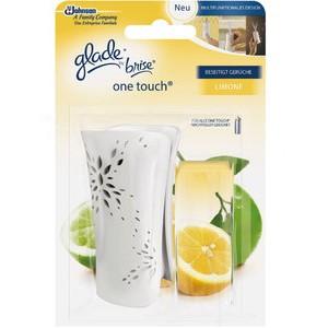 Lufterfrischer, one touch®, gefüllt, Limone, weiß
