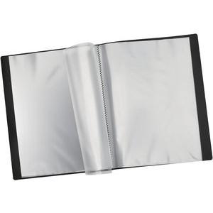 Sichtbuch, PP, 24 Hüllen, A4, schwarz