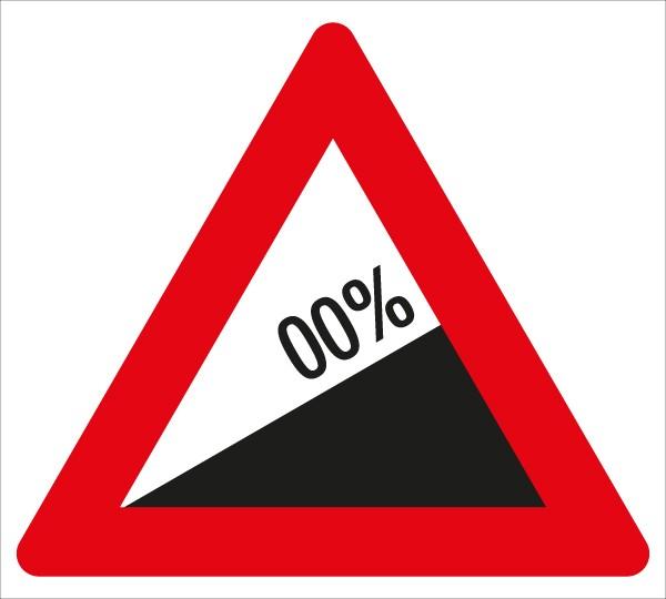 §50/7a Starke Steigung %