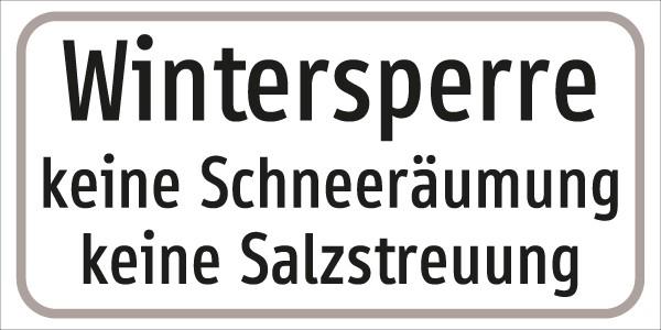 §54/5 Z.T. Text: Wintersperre ....