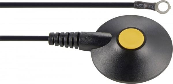 ESD-Erdungskabel 1.80 m Wolfgang Warmbier 2250.790 Druckknopf 10 mm