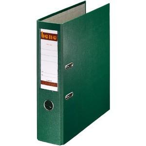 Ordner No.1, PP-kaschiert, Einsteckrückenschild, A4, 80 mm, grün