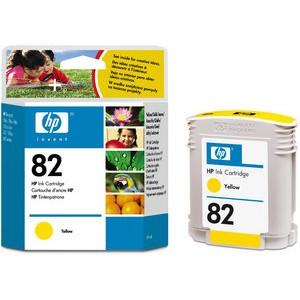 Tintenpatrone 82, C4913A, original, gelb, 69 ml