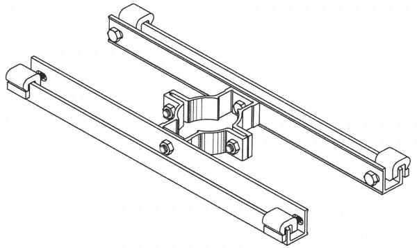 Doppelseitige Befestigung / Typ NdKC