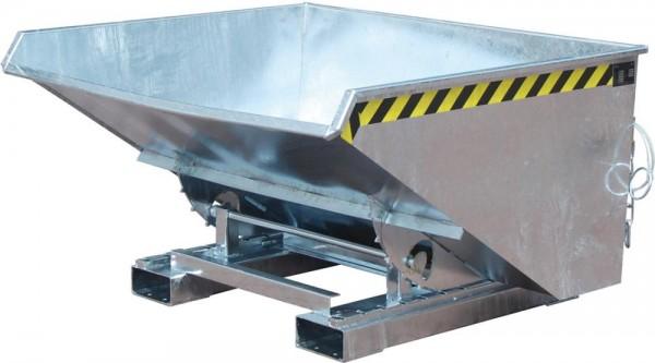 Kippbehälter m. Abrollsys0,9cbm,1260x1570x835mm,vz