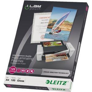 Laminiertasche iLAM UDT, A4, 0,125 mm, farblos, glänzend