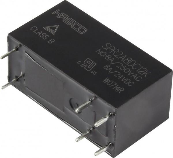 Hasco Relays and Electronics SPR2A8DC12K Printrelais 12 V/DC 8 A 2 Schließe
