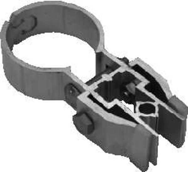 Rohrrahmenlasche-NV Ø 60 mm. doppelseitig