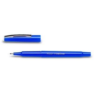 Fineliner SW-PPF, 0,4 mm, Schaft: in Schreibfarbe, Schreibf.: blau