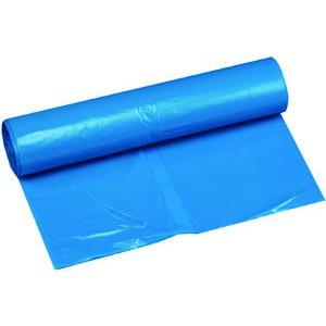 Müllsack extrastark, LDPE, 0,055mm, 120l, 700x1.100mm, blau
